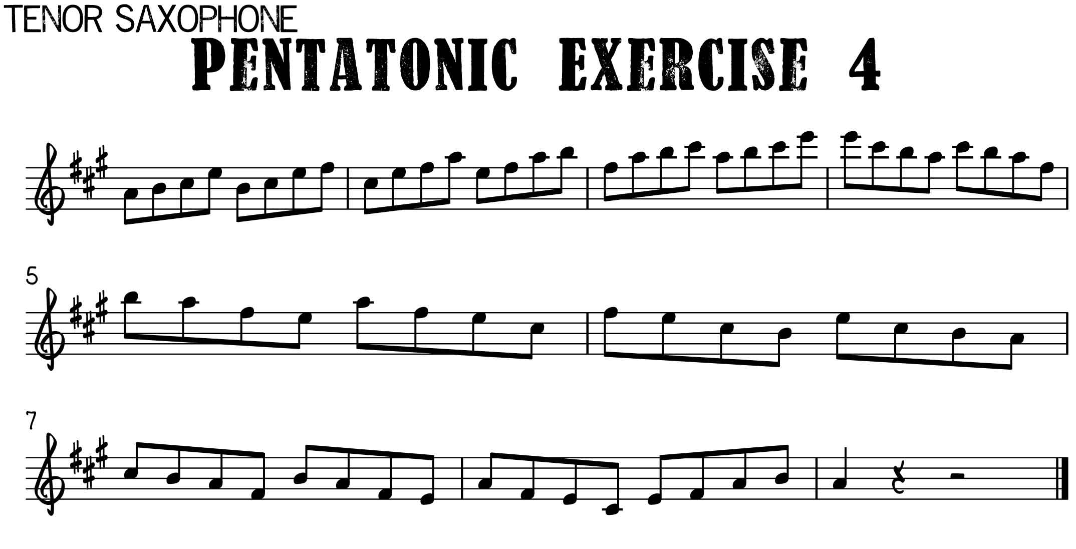 How to Play Stand By Me on Saxophone and Take a Solo