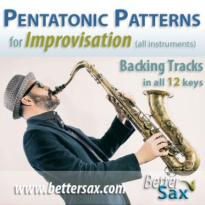 Pentatonic Patterns for Improvisation Backing Tracks
