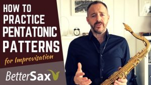 how to practice pentatonic patterns for improvisation