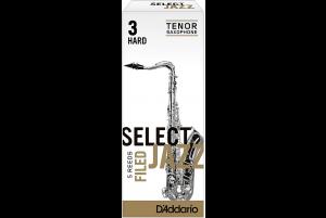 D'Addario 3H Select Jazz Tenor Saxophone Reeds
