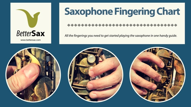 Saxophone fingering chart pdf download