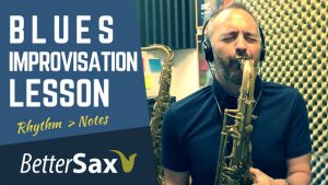 blues saxophone improvisation lesson better sax and jay metcalf