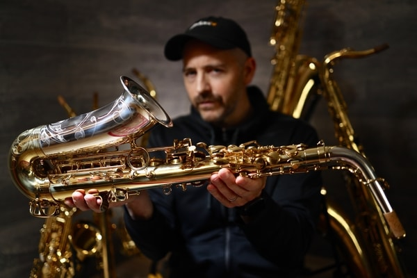 Jay Metcalf Yanagisawa AWO33 alto saxophone