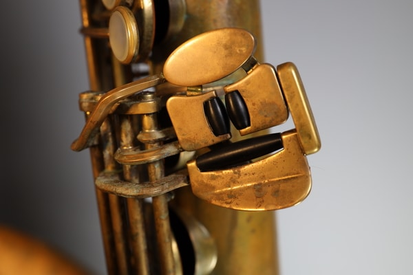unlacquered tenor saxophone keys