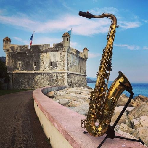 Yanagisawa T880 saxophone in Menton, France