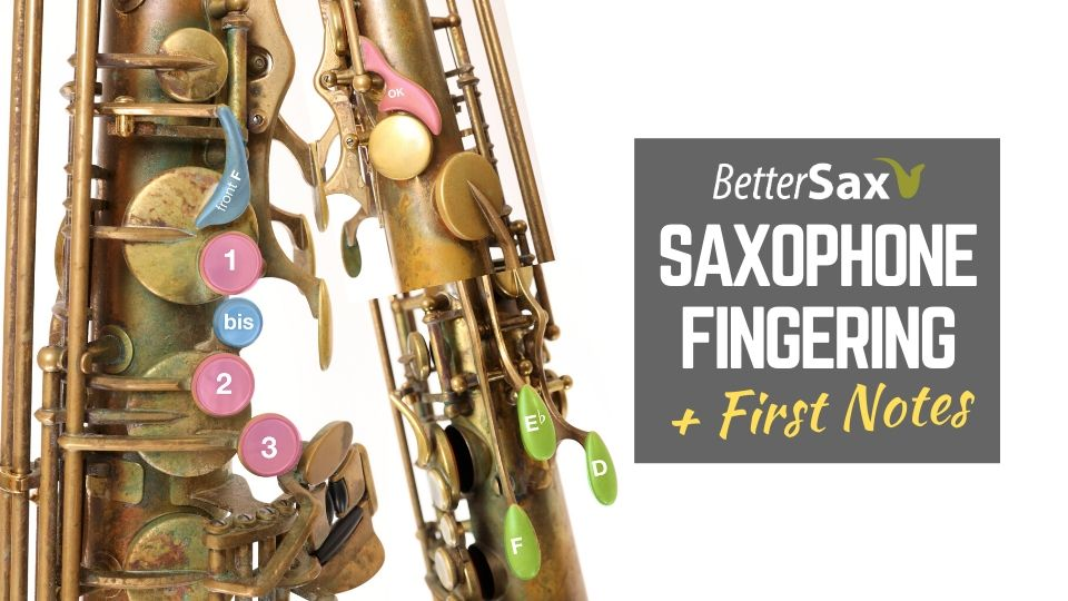 Saxophone Fingerings and First Notes