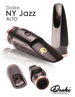 Drake NY Jazz - Alto Sax Mouthpiece