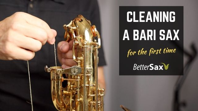 How to Swab or Clean Our Your Bari Sax