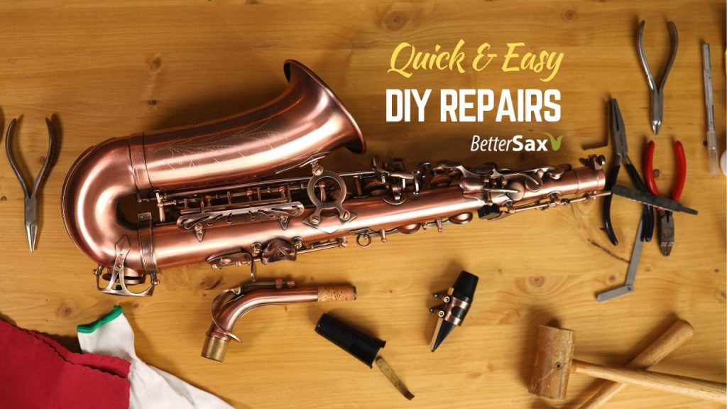 Quick & Easy DIY Sax Repairs