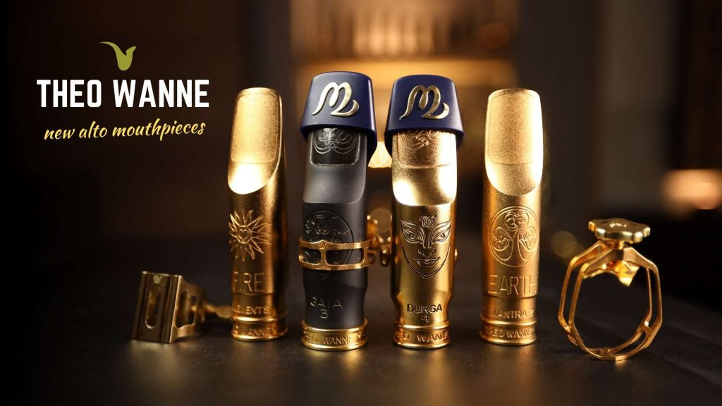 New Theo Wanne Alto Mouthpieces