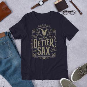BetterSax Vintage Style Tee