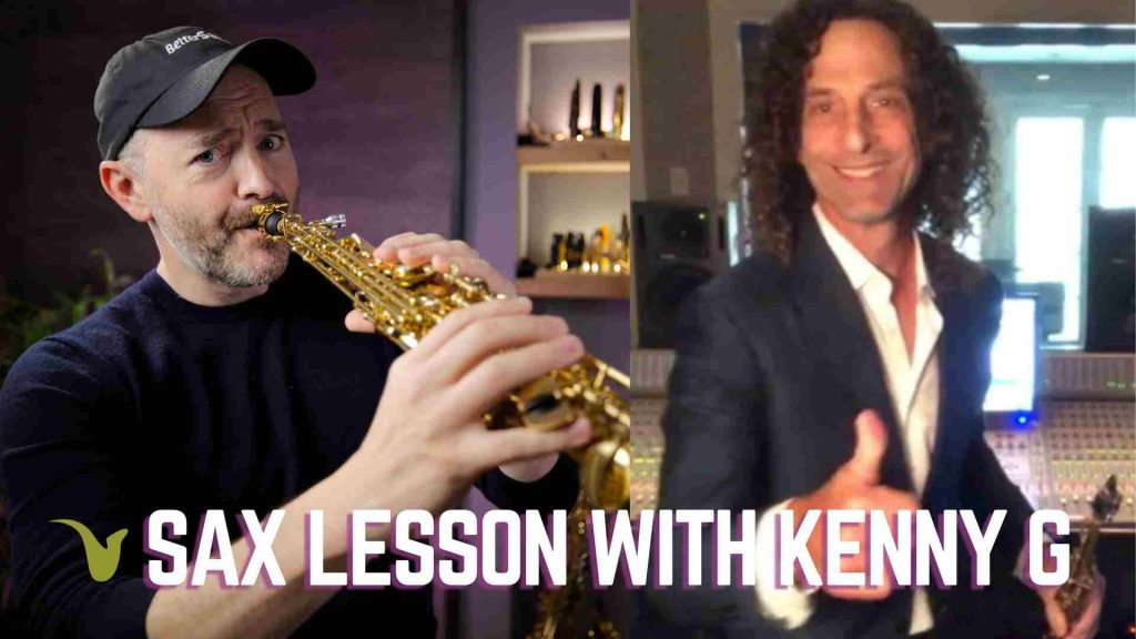 Sax Lesson with Kenny G