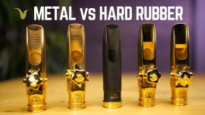 Metal vs. Hard Rubber - Theo Wanne Tenor Saxophone Mouthpieces