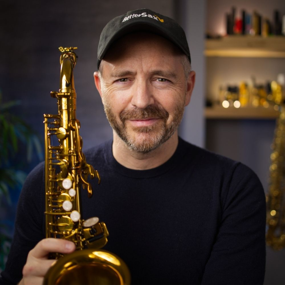 Jay Metcalf Profile with Better Sax