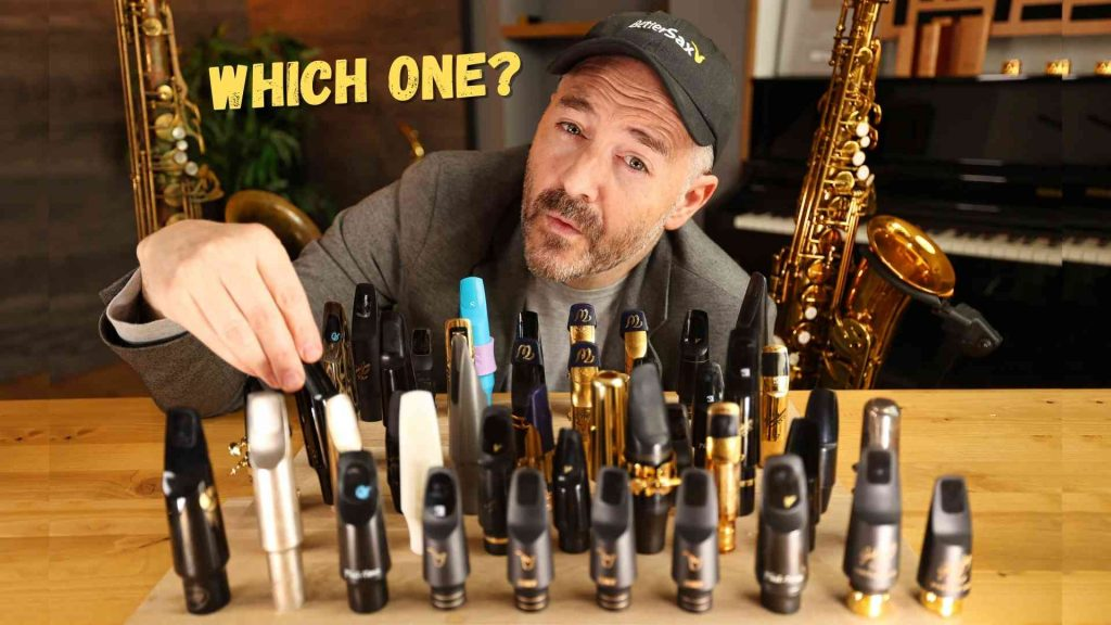 Saxophone Mouthpiece Tip Openings