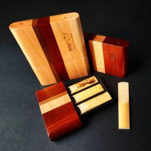 BetterSax Deluxe Wooden Reed Case