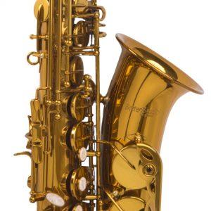 BetterSax alto saxophone bell close